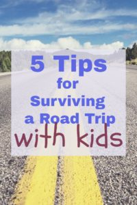Long road trips are never easy! But with these 5 tips, it just might get a little easier...even with your little guys in tow!