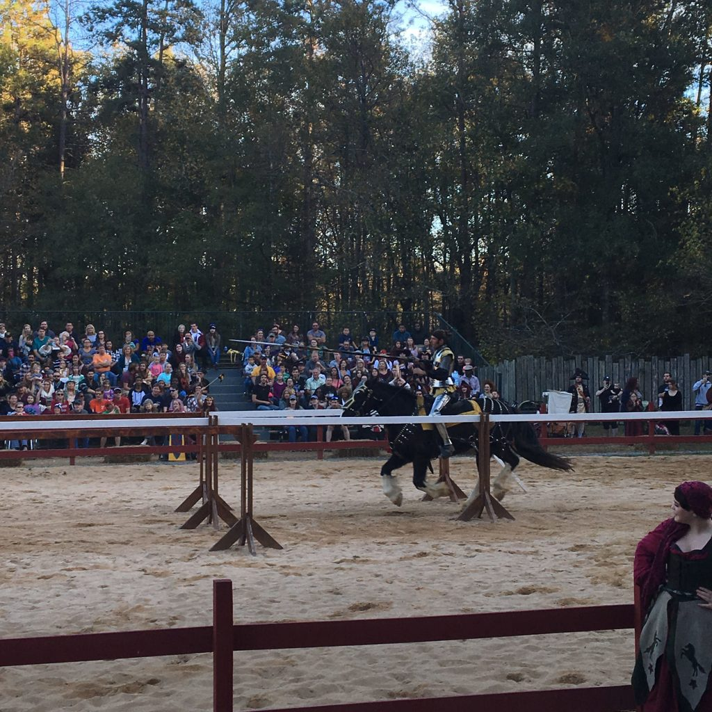 We had an excellent time at the Caroline Renaissance Festival! This yearly event takes place in October and November in Huntersville, NC-just a 20ish minute drive from Uptown Charlotte.