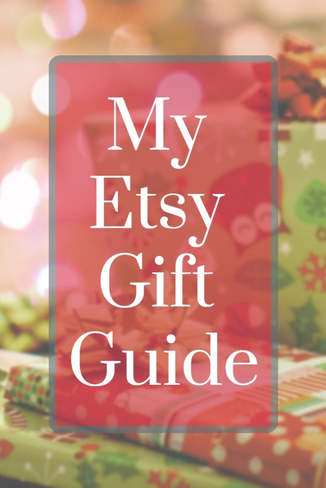 A comprehensive list of gift ideas from Etsy. I have links to many different stores and items in various categories. You are sure to find something for everyone on your list!