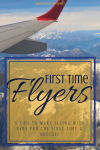 Flying for the first time can be stressful for your little one. Use these tips to help them earn their wings!
