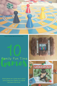 An excellent list of games you can play as a family! Spend more quality time together.