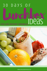 "Back to school time means packing lunchboxes,. Here are 30 ideas to help you with the question ""what's for lunch?"""