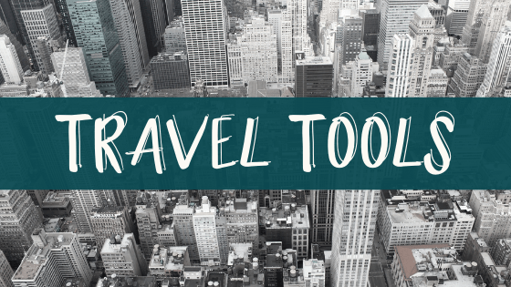 A comprehensive list of travel tools to make your next trip go much smoother