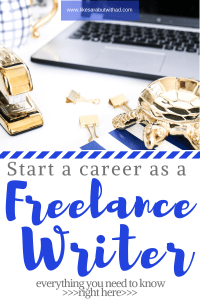 Think you may want to become a freelance writer? Here is everything you need to know before you make the leap--all my freelancing tips!