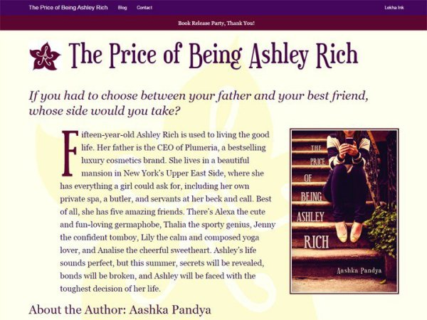 The Price of Being Ashley Rich
