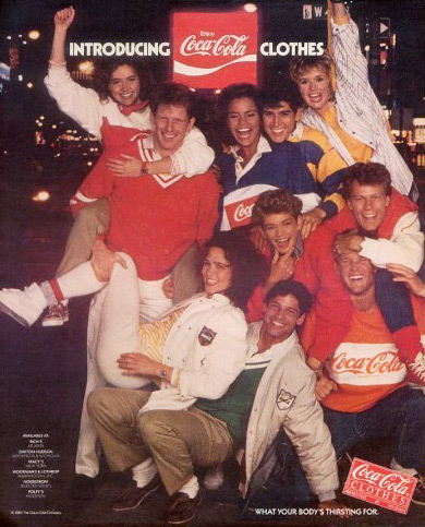 Image result for image 1980 coke shirts