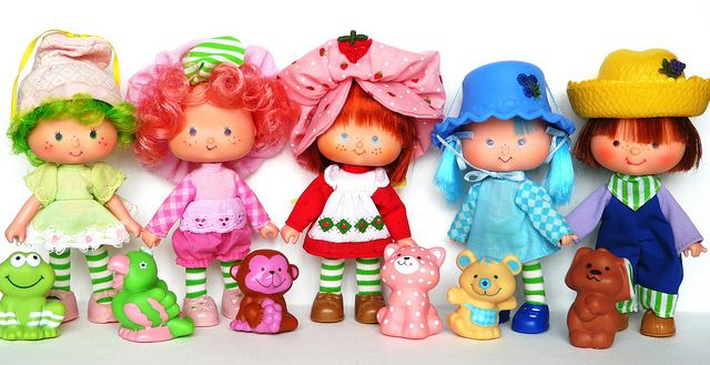 The World Of Strawberry Shortcake Dolls In The 80s Like Totally 80s