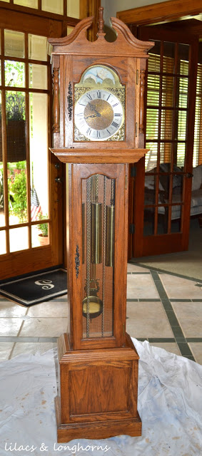 A Grandfather Clock Makeover and a Little History