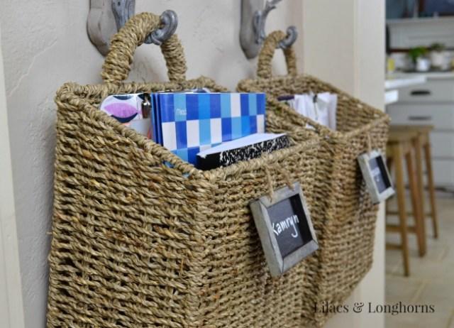hanging file baskets