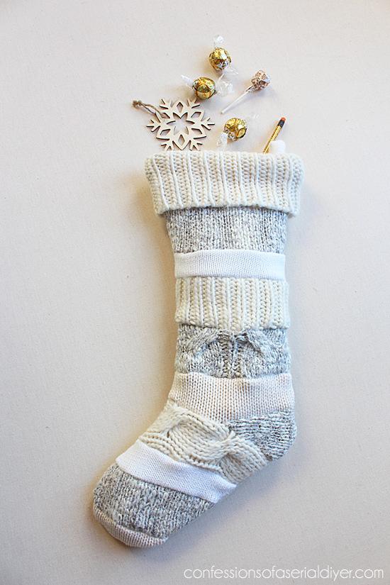 Sweater stocking