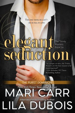Cover for Elegant Seduction (Trinity Masters, Book Six)