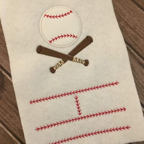 Baseball Birth Announcement Template sample
