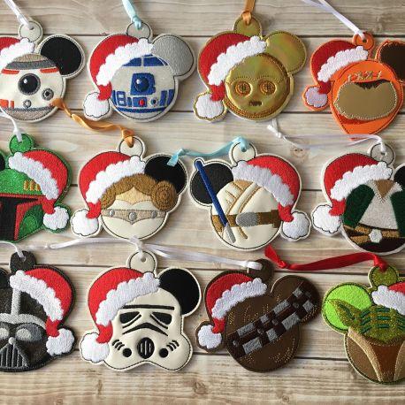 Galaxy Gang Ornaments