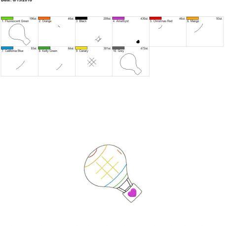 Hot air balloon ttt board 4×4