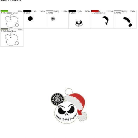 Jack Mouse Ornament 4×4