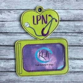 ITH – LPN Horizontal ID Holder 5×7 only