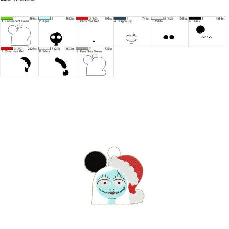 Sally-Mouse-Ornament 4×4