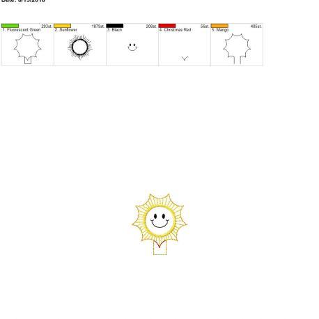 Sunshine-Pencil-Topper-4-x-4-Single