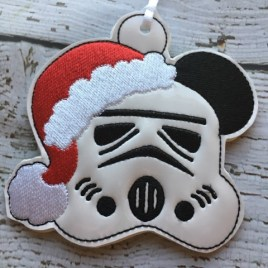 ITH – Trooper Mouse Ornament 4×4