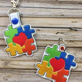 ITH – Autism Awareness Fobs 4×4 & 5×7 Grouped