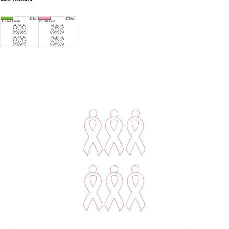 awareness ribbon 5×7 grouped