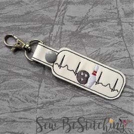 ITH – Bowling EKG snap tab fob 4×4 and 5×7 Grouped