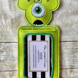 ITH – Best Friend Mikey Monster ID Holder 5×7 only