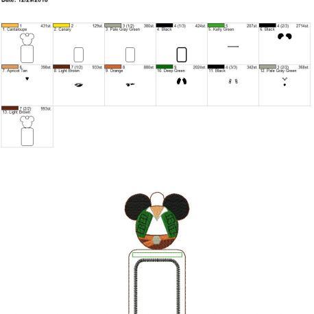 Smuggler mouse id holder 5×7