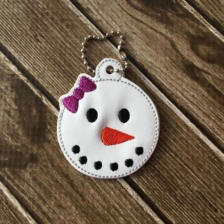 girly snowman