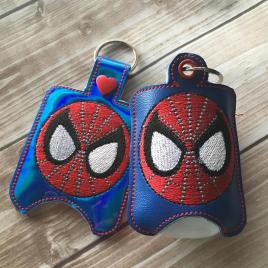 ITH Spider Hero Holder 4×4 and 5×7 included- Embroidery Design – DIGITAL Embroidery DESIGN