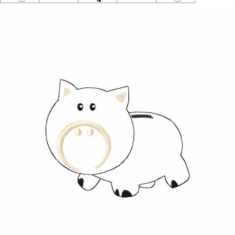 Piggy Bank 5 x 7
