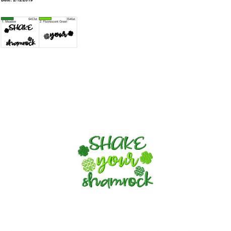 Shake your shamrock 5×7