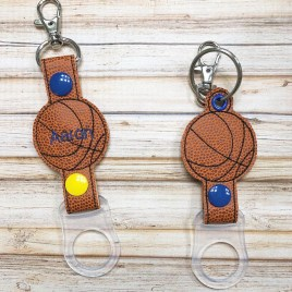ITH Basketball Water Bottle Holders – 4×4 and 5×7 – DIGITAL Embroidery DESIGN