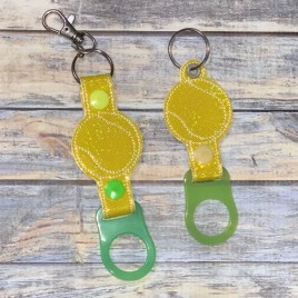ITH Tennis Water Bottle Holders – 4×4 and 5×7 – DIGITAL Embroidery DESIGN