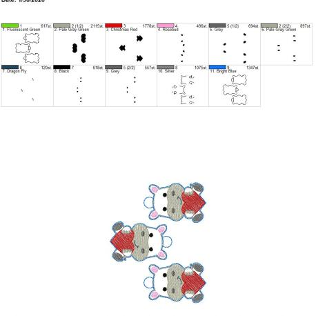 Valentine hippo eyelet 5×7 grouped