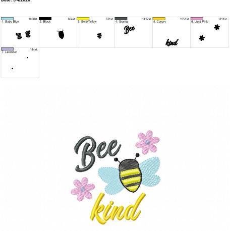Bee Kind 4×4