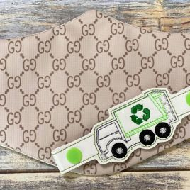 ITH Mask Extender Sanitation Truck – 2 sizes – DIGITAL Embroidery DESIGN