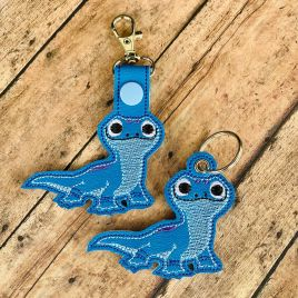 ITH Baby Lizard Fobs 4×4 and 5×7 included- DIGITAL Embroidery DESIGN