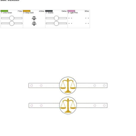 Mask Extender Justice Scale 6×10 grouped