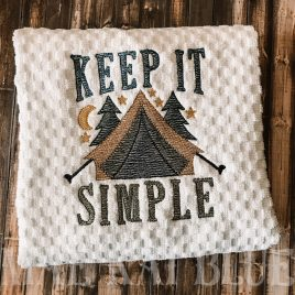 Keep It Simple – 3 Sizes – Digital Embroidery Design
