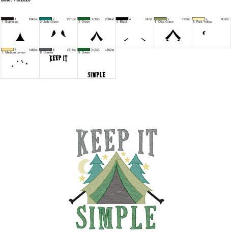 Keep it simple 8×12
