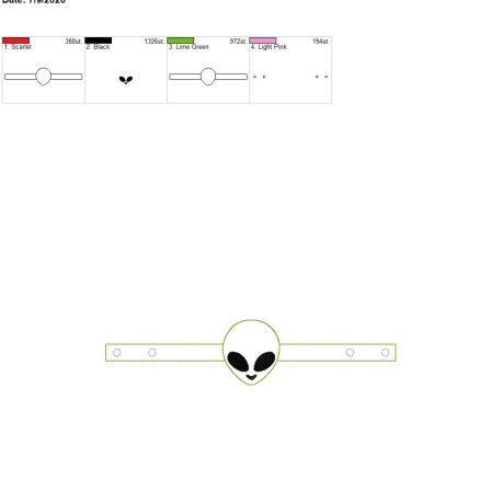 Mask Extender Alien 6×10