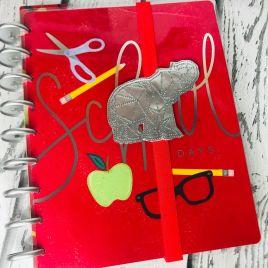 ITH – Geo Elephant – Book Band – Digital Embroidery Design