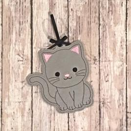 Cat Ornament – Embroidery Design, Digital File