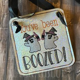 ITH – You've Been Boozed Feltie – Digital Embroidery Design