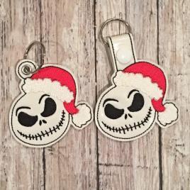 Santa Jack Fobs – DIGITAL Embroidery DESIGN