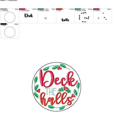 deck the halls coaster 4×4