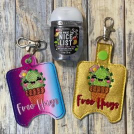 Free Hugs Sanitizer Holders – DIGITAL Embroidery DESIGN