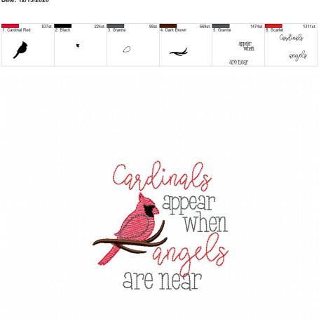 Cardinals appear 4×4