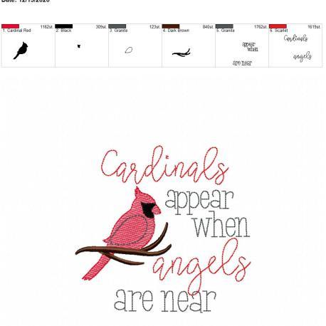 Cardinals appear 5×7